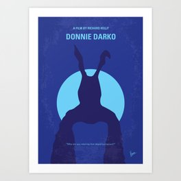 No295 My Donnie Darko mmp Art Print