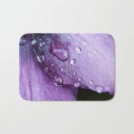 Winter flower Bath Mat