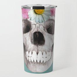 Ornate skull Travel Mug