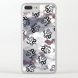Serpents<3 3 Clear iPhone Case