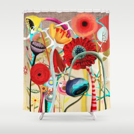 Restart Yourself Shower Curtain