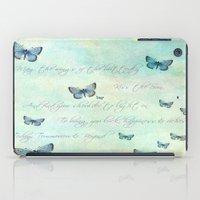 butterflies iPad Cases featuring Butterflies by secretgardenphotography [Nicola]