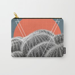 Barrel Cacti Abstract Carry-All Pouch
