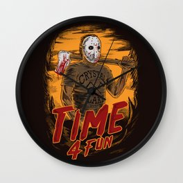 Time for fun Wall Clock