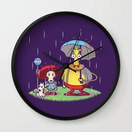 My Friend Hef Wall Clock