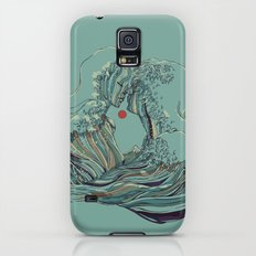 Kissing The Wave Galaxy S5 Slim Case