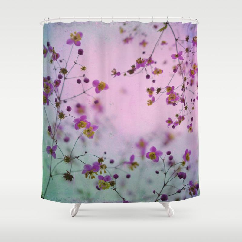 Vintage Little Flowers Shower Curtain