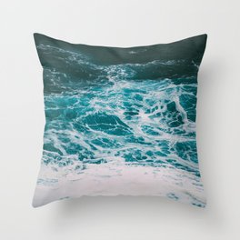 Wave ii Throw Pillow