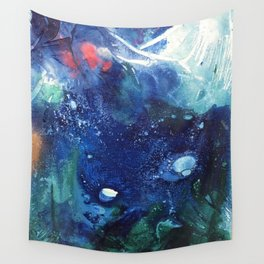 Bright Ocean Life, Tiny World Collection Wall Tapestry