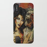 warcraft iPhone & iPod Cases featuring Zombie Love #1 by BAXA by baxaart