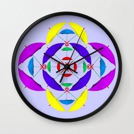 Brollys Wall Clock