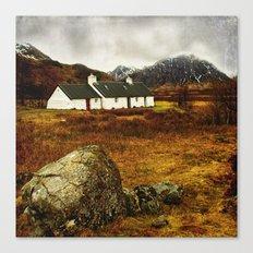 Blackrock Cottage Glencoe Scotland Canvas Print