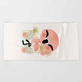 "The ""Animignons"" - the Flamingo Beach Towel"