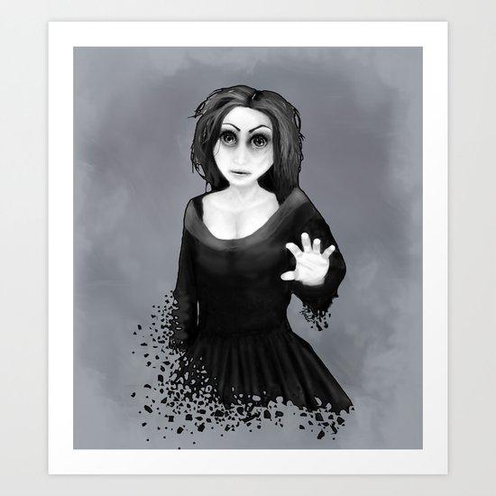 Disintegration Art Print