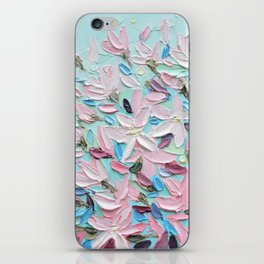 District  Blooms iPhone Skin