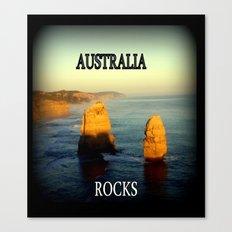 Australia Rocks Canvas Print