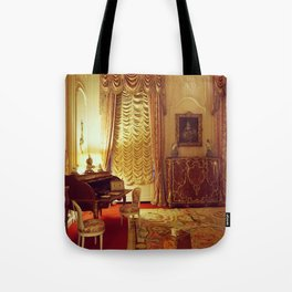 Country Manor Bedroom Tote Bag