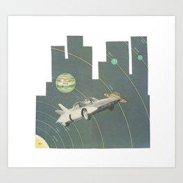 Planetary Shifters Art Print