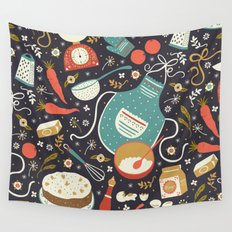 Carrot Cake Wall Tapestry