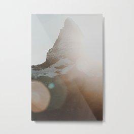 Matterhorn glow.. Metal Print