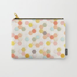 Honeycomb - Sweet Cream Carry-All Pouch
