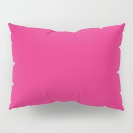 Deep Cerise Cubic Pillow Sham