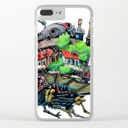 Howls Castle Clear iPhone Case