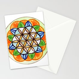 Celebrate Life Mandala Stationery Cards