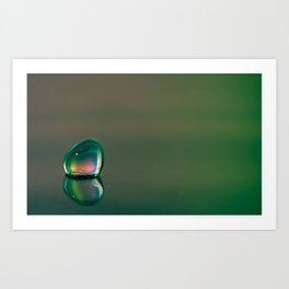 The Water Drop That Rests Art Print