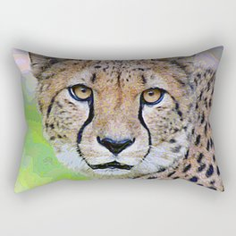 AnimalPaint_Cheetah_20171201_by_JAMColorsSpecial Rectangular Pillow