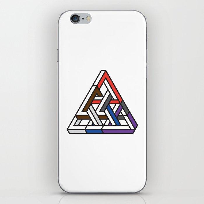 Triangular iPhone Skin