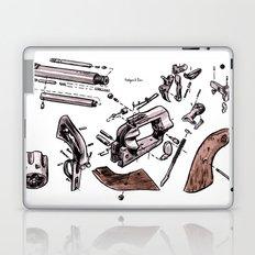 Exploded Gun Laptop & iPad Skin
