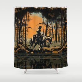 In the Evening (version 2) Shower Curtain