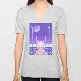 Visit the Moon Kingdom / Sailor Moon Unisex V-Neck