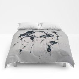 Splaaash Series - Femme Fatale Ink Comforters