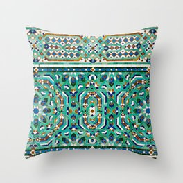 Moroccan Mosaic 2 Throw Pillow