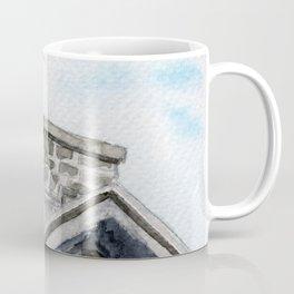 Heron on Watson's Mill Coffee Mug