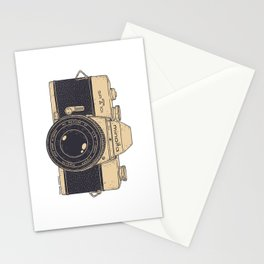 Minolta Vintage Camera Stationery Cards