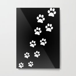 Cat Paws Metal Print