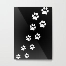 Cat Paws Metal Print
