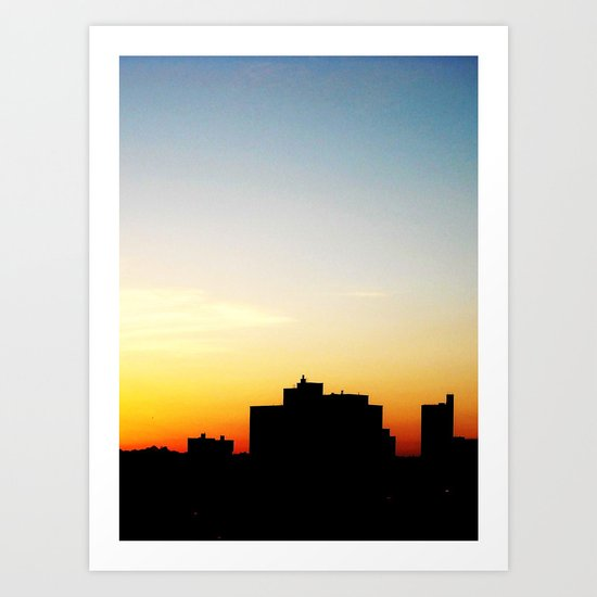 structure or paradise  Art Print