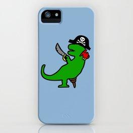 Pirate Dinosaur - T-Rex iPhone Case
