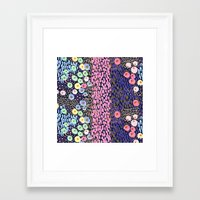 bubble Framed Art Prints featuring Bubble by moniquilla