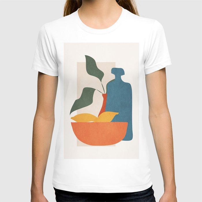 Minimalist Still Life Art T-shirt