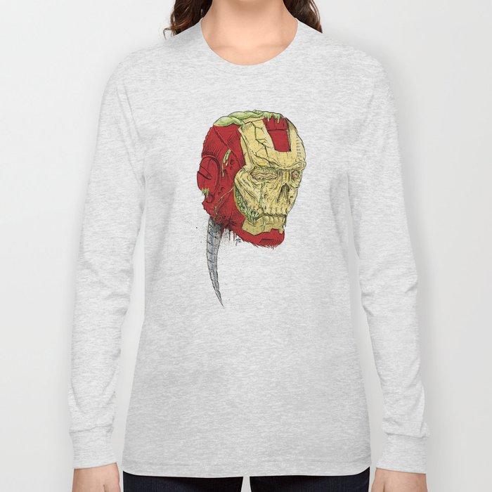 The Death of Iron Man Long Sleeve T-shirt