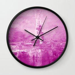 Just purple Wall Clock