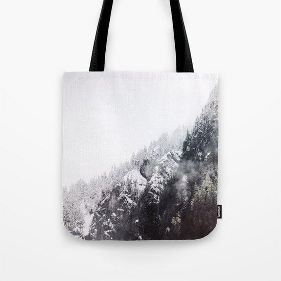 winter fog Tote Bag