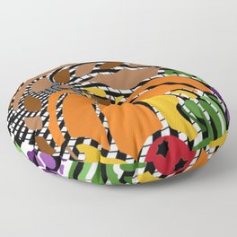 A PUZZLING OF PLENTY Floor Pillow