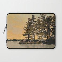 Frontenac Provincial Park Poster Laptop Sleeve