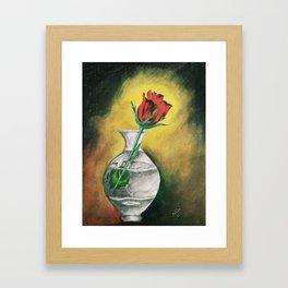 "Beautiful Flower called ""ROSE"" Framed Art Print"